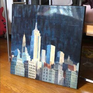 Wall Art - New York Painting